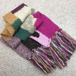 Lucky Brand Accessories - LUCKY BRAND wool blend scarf with tassel ends